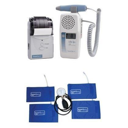 doppler fetale / da tasca / con stampante / ABI