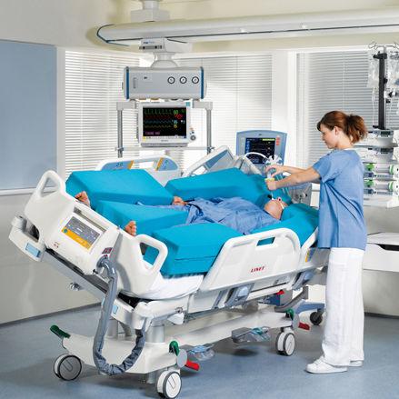 Letto per terapia intensiva / elettrico / a inclinazione laterale / ad altezza regolabile multicare, multicare LE wissner-bosserhoff