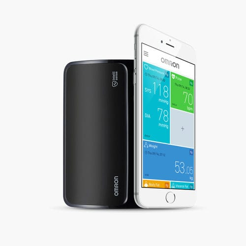 tensiometro elettronico automatico / per braccio / Bluetooth / smartphone