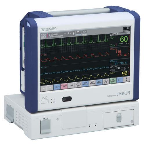 monitor per paziente per terapia intensiva / clinico / di trasporto / ECG
