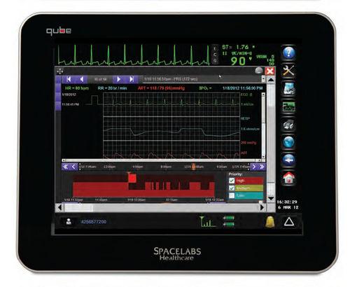 monitor multiparametrico per terapia intensiva / di trasporto / per anestesia / RESP
