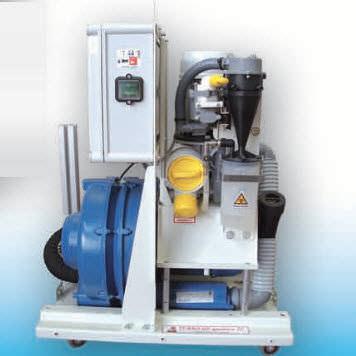 Sistema di vuoto odontoiatrico TURBO HP quattro 2V CATTANI