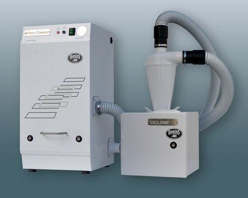 aspiratore di polveri per fresa / da tavolo / con sistema di filtrazione