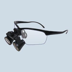 lenti binoculari con montatura