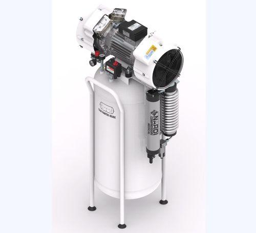 compressore d'aria medico / dentale / da laboratorio / senza olio