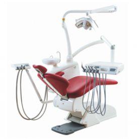 Riunito odontoiatrico con illuminazione carving drop