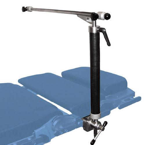 arco per anestesia per tavolo operatorio / a forma di L