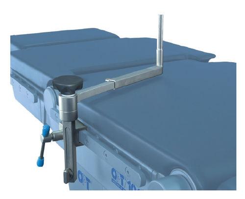 Appoggio laterale / per tavolo operatorio / in acciaio inossidabile / ad altezza variabile 9908019 OPT SurgiSystems