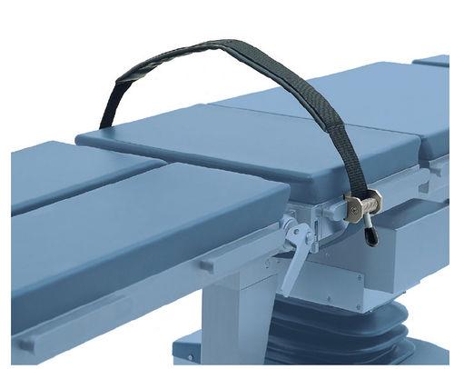 cinghia di fissaggio per tavolo operatorio / per il corpo / per gamba