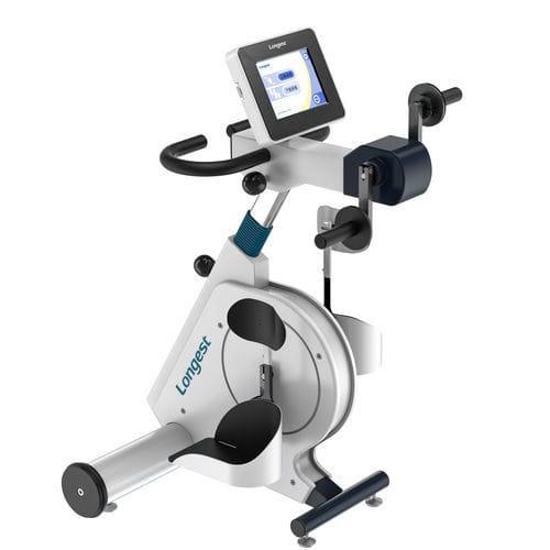 pedalatore per esercizi braccia e gambe / in posizione seduta