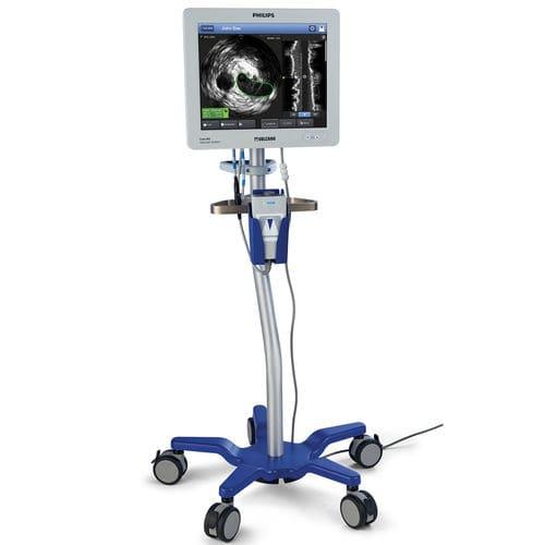 ecografo su piattaforma / per ecografia intravascolare / touch screen