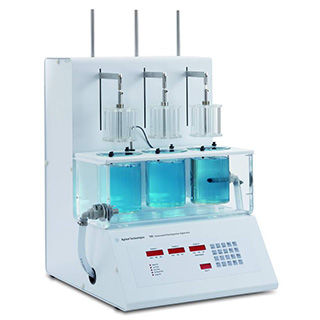 Tester di disintegrazione / per l'industria farmaceutica / compatto Agilent 100  Agilent Technologies