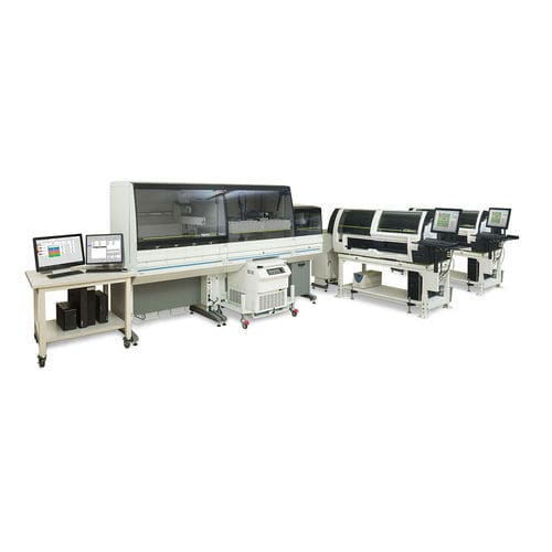 sistema di automazione di laboratorio pre-analitica / post-analitica / per analizzatore di ematologia