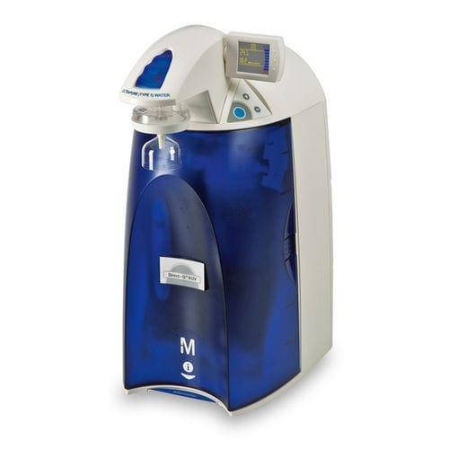 sistema di depurazione dell'acqua da laboratorio / a osmosi inversa / con deionizzazione / per la produzione di acqua ultrapura