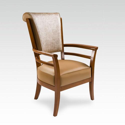Sedia con schienale alto / con braccioli - CROSSE - COLLINET