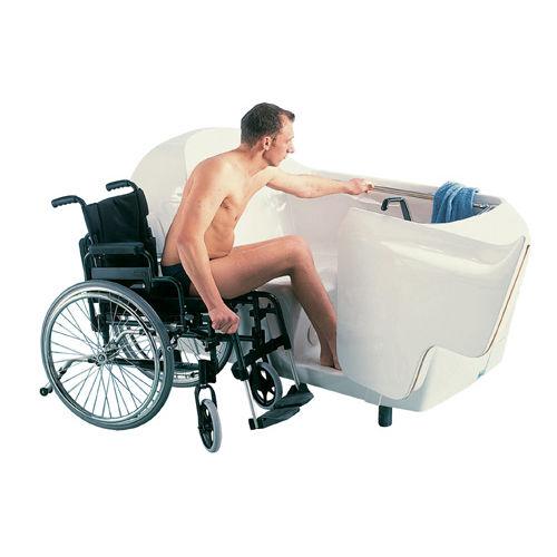Vasca da bagno medicalizzata con sportello / con sedile da doccia ...