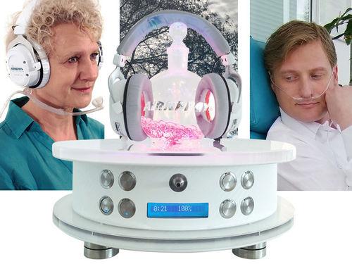 unità di terapia spirovitale da tavolo / bronchite / problemi dermatologici