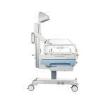 tavolo di rianimazione neonatale su rotelle / ad altezza regolabile