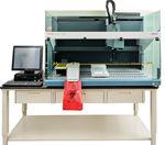 sistema di preparazione dei campioni da laboratorio / tramite pipettaggio / siero / al plasma