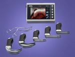 Video endoscopio laringoscopio / con lama / pediatrico C-MAC® KARL STORZ