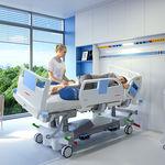 letto per terapia intensiva / elettrico / ad altezza regolabile / a inclinazione laterale