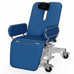 poltrona per visita ORL / oftalmologica / elettrica / con rotelle