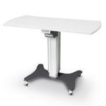 tavolo oftalmico elettrico / ad altezza regolabile / con rotelle