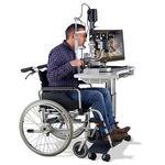Tavolo oftalmico elettrico / ad altezza regolabile / con rotelle HSM 600 Haag-Streit Diagnostics