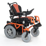 sedia a rotelle elettrica / da esterno / da interno / reclinabile