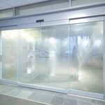 porta scorrevole / per ospedale / in vetro / automatica