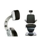 Poltrona da visita oftalmologica / elettrica / ad altezza regolabile / inclinabile 1000-CH S4OPTIK