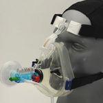 maschera CPAP / a ossigeno / facciale / monouso