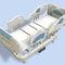 letto per terapia intensiva / elettrico / ad altezza regolabile / ospedaliero
