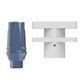 pilastro dentale per impianto dritto / in titanio / esterno