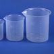 coppa di decantazione in polipropilene / da laboratorio / graduata