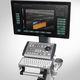 ecografo su piattaforma compatto / per ecografia multidisciplinare / bianco e nero / doppler a colori