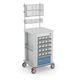 carrello di distribuzione di farmaci / per farmaci / con cassettini