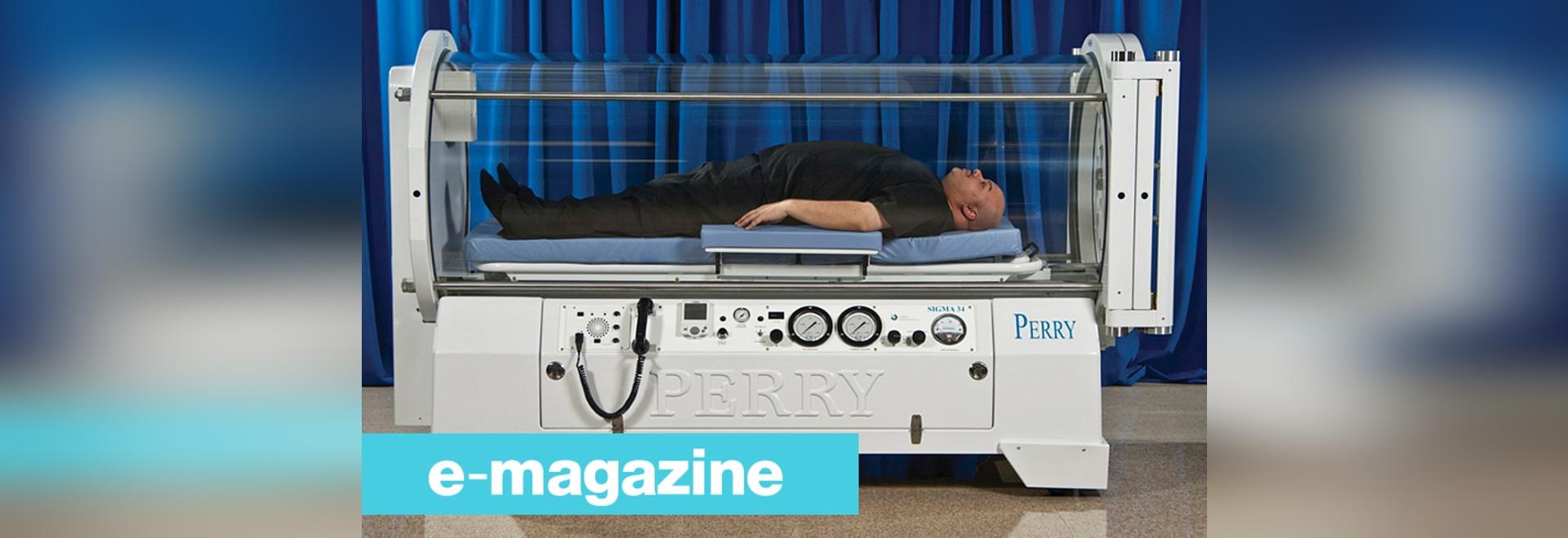 Una camera iperbarica per i pazienti fino a 320 chilogrammi
