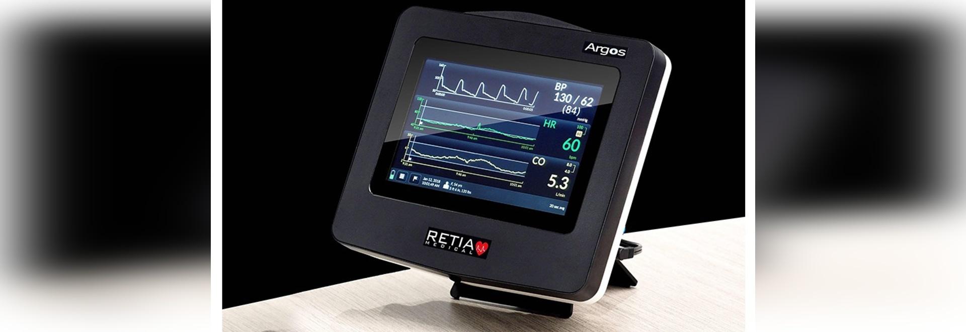 Monitor del volume del sangue arterioso di Argo ora disponibile negli Stati Uniti.