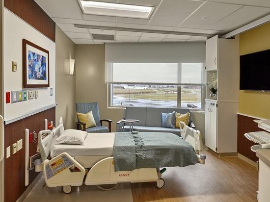 Strategie di progettazione affinchè stanze pazienti dell'Parte di destra-incollatura ottimizzino efficienza