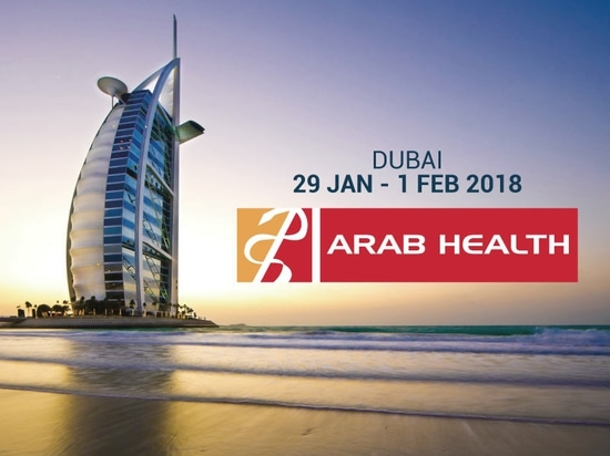 Echolight all'Arab Health 2018.