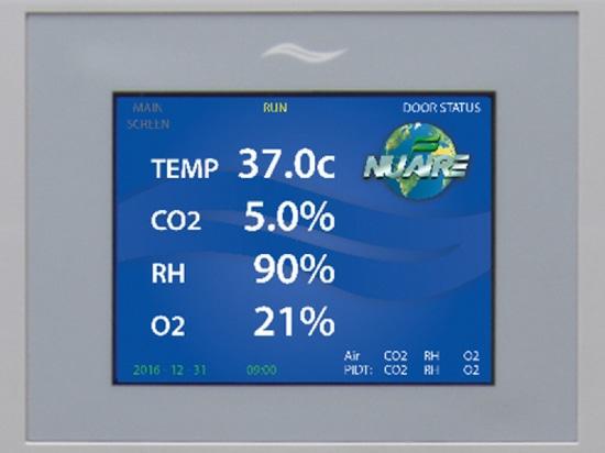 Due incubatrici rivestite di CO2 della nuova acqua hanno presentato