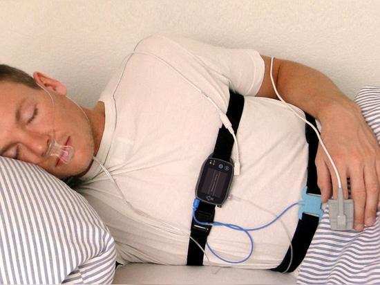 Nuovo vagliatore di sonno di Manica 12 - eco di SOMNOtouch RESP