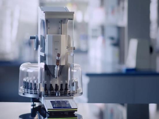 Polvere automatizzata che dispensa nella sperimentazione di Alto-capacità di lavorazione ()