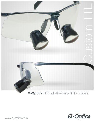 Q-Optics Flip Style Loupes