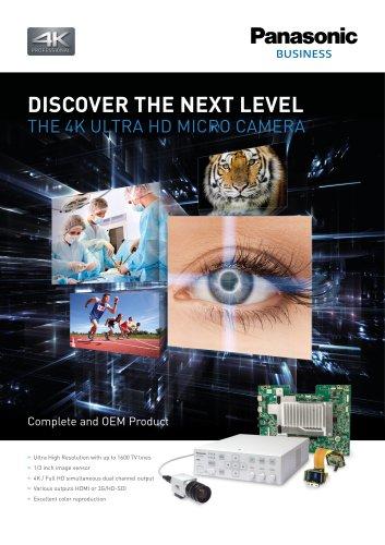 4K Micro Camera Brochure