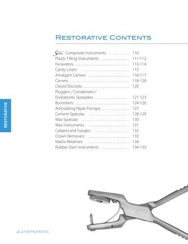 Restorative Contents