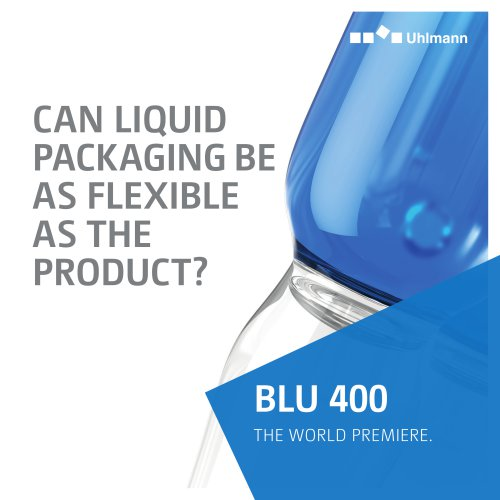 BLU 400 Liquid Packaging Machine