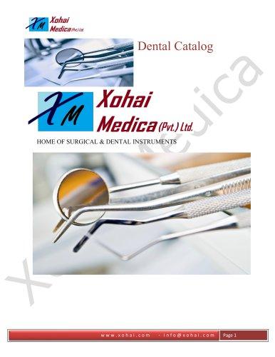 Xohai Medica Dental Catalogue