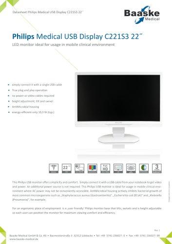 Philips Medical USB Display C221S3 22